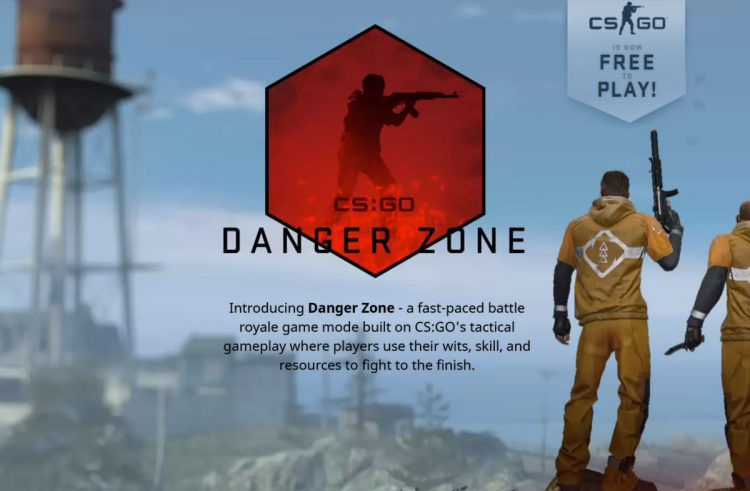 'Counter Strike: Global Offensive' becomes free and launches a new 'Battle Royale' mode