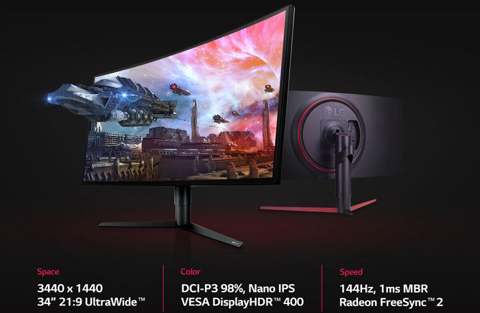 "LG prepares two new monitors of its ""Ultra"" range, we will meet you at CES 2019"