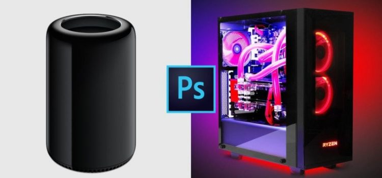 This is how a PC with $ 1,530 AMD Ryzen crushes a $ 5,660 Mac Pro in Photoshop