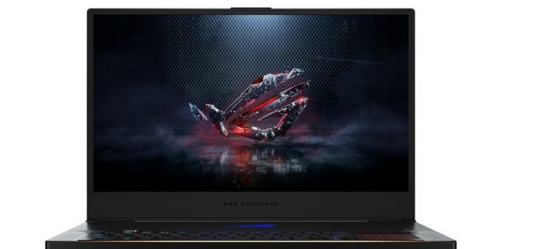 """ASUS ROG Zephyrus GX701: 17.3 inches in a """"thin"""" laptop that rises to ventilate"""