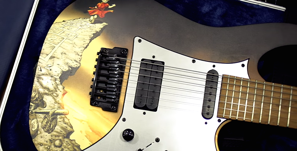This hypnotic video of an almost impossible to follow song shows how the legendary Guitar Hero is still alive