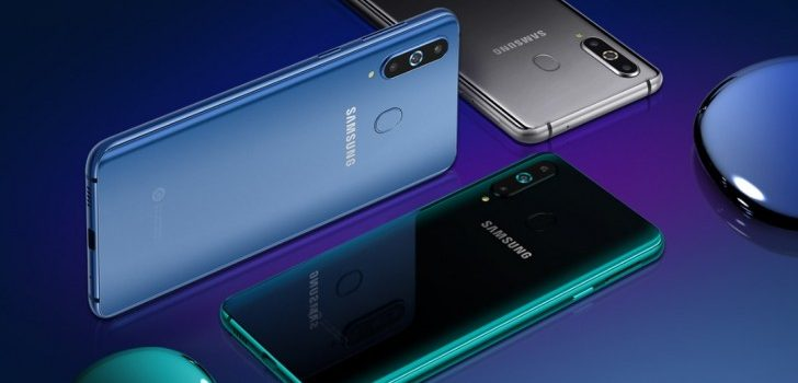 Samsung Galaxy A9 Pro (2019): triple camera and 'Infinity-O' screen, a preview of what Samsung is preparing for this year