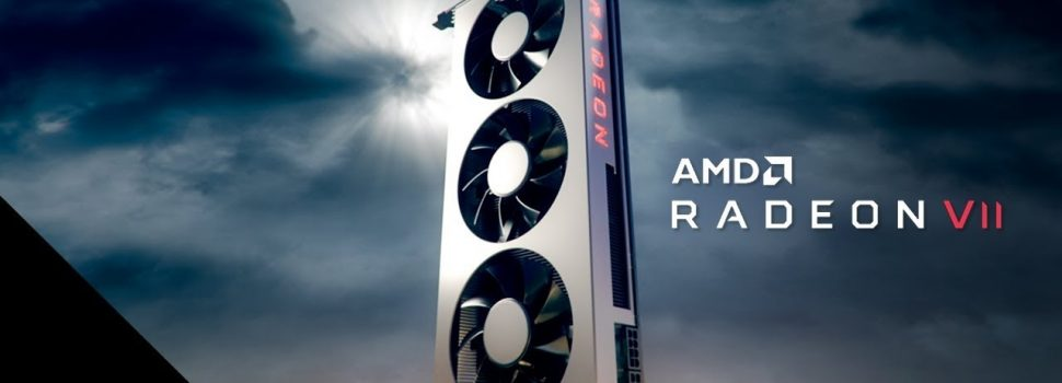 AMD announces Radeon VII, the first gaming GPU with architecture of 7 nm