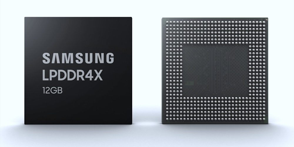Mobiles with more RAM than many laptops: Samsung already mass-produces its 12GB modules for smartphones