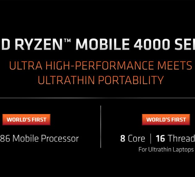 AMD Ryzen Mobile 4000: this is the microprocessors with which AMD wants to dominate the laptop market