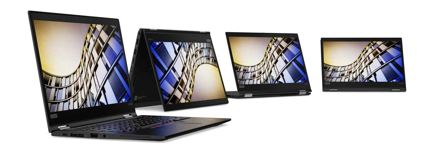 Lenovo Launches ThinkPad T, X and L: Nine Laptops with 10th Generation Intel Processors and AMD Ryzen PRO 4000 Option