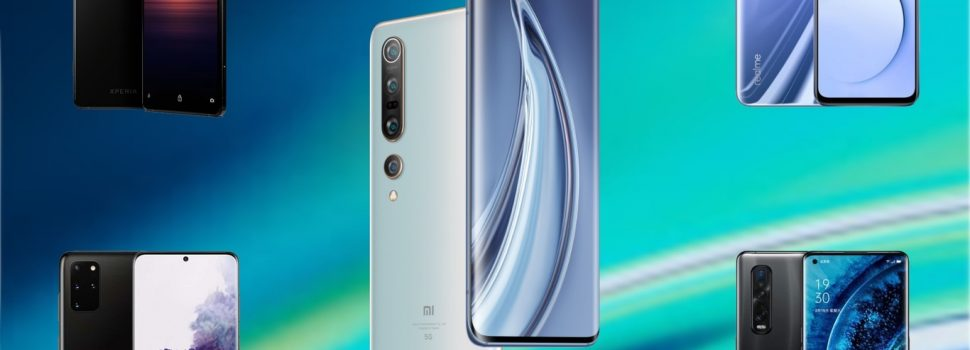 Comparison Xiaomi Mi 10 Pro: we face it to the Samsung Galaxy S20 +, Huawei P40 Pro, OPPO Find X2 Pro and the best high-end on the market